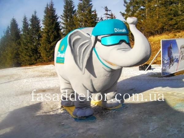 фигуры из пенопласта - слон Dilmah