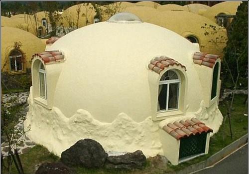 Архитенктурные формы из пенопласта - юрта