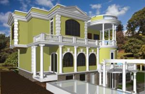 колонны в оформлении дома