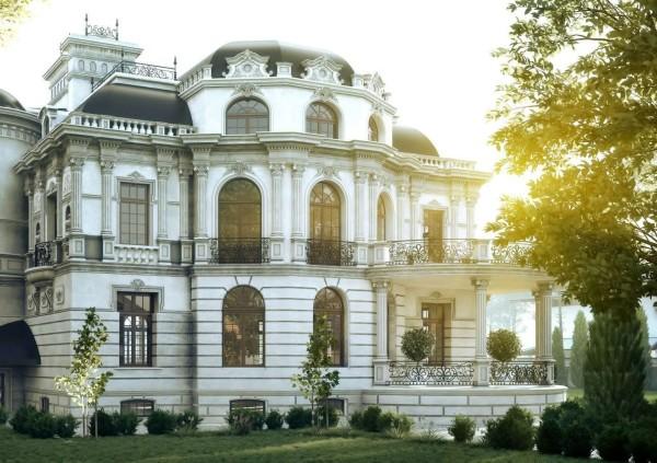 дом в стиле барокко