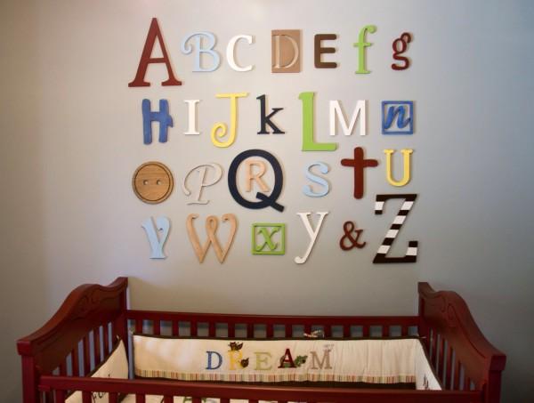 алфавит из пенопласта