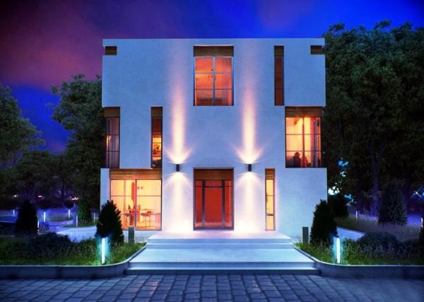 дома в стиле минимализм